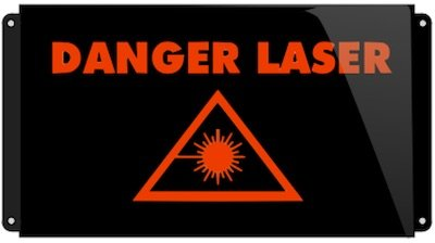 danger laser pictogramme